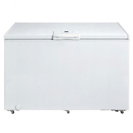 Congelateur coffre - 502L - Thermostat electronique - classe A+ - 1 panier - Blanc