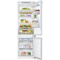 SAMSUNG - BRB260134WW - Refrigerateur Combine integrable - 267L 195L + 72L - Froid ventile integral - A++ - L54cmxH177,5cm - Bla