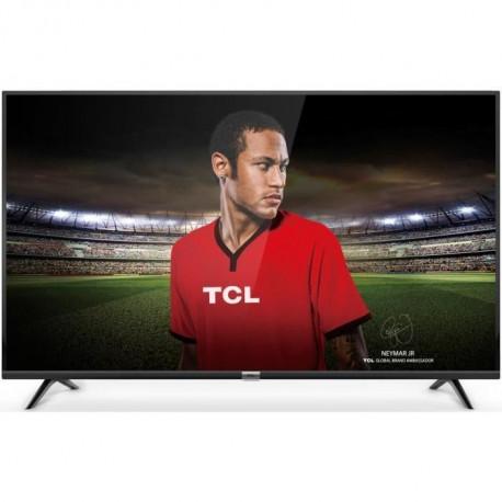 TCL 49DP600 TV 4K UHD - 49 124cm - 4K HDR - Dolby Audio - Smart TV - 3 x HDMI - 2x USB - Classe energetique A+