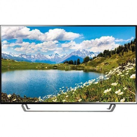 CONTINENTAL EDISON TV LED 4 K UHD 55 140 cm - Resolution 3840x2160 - 3x HDMI, 2x USB - Pied central - Port optique