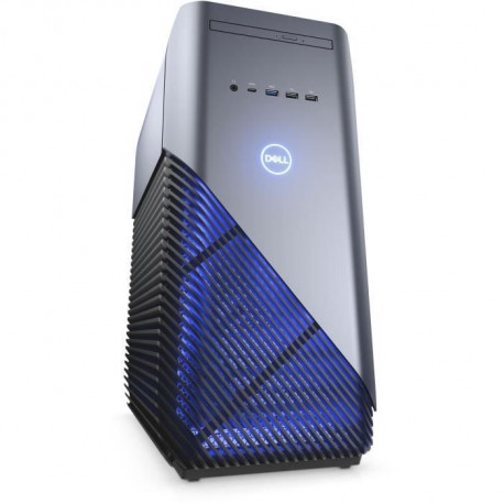 Unite Centrale Gamer - DELL Inspiron Desktop 5680 - Core i3 8100 - RAM 8 Go - Stockage 1To HDD - NVIDIA GTX 1060 3 Go Windows