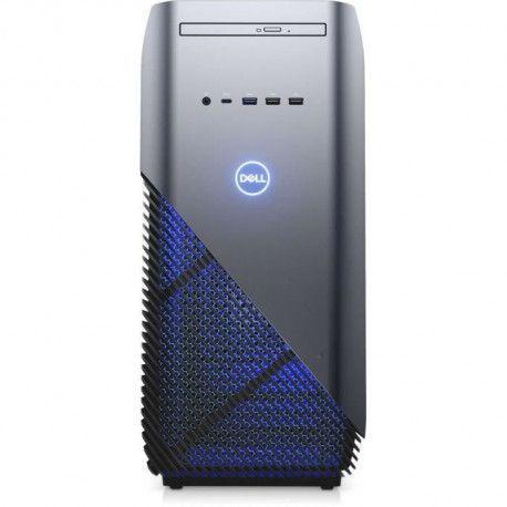 Unite Centrale Gamer - DELL Inspiron Desktop 5680 - Core i3 8100 - RAM 8 Go - 1To + 128Go SSD - NVIDIA GTX 1060 6 Go Windows 1