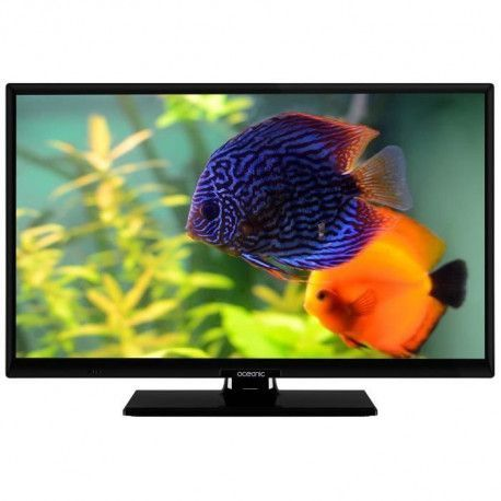 OCEANIC TV LED HD 24 60 cm - Smart TV - 1366 x720 - 2x HDMI, 1xUSB, Wi-Fi, Netflix, Youtube