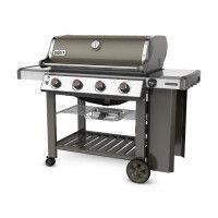 WEBER Barbecue a gaz Genesis II E-410 GBS - Acier emaillee - Gris fumee