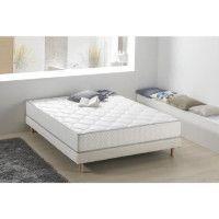 Matelas ressorts et mousse 180 x 200 - Confort equilibre - Epaisseur 24 cm - Fabrication europeenne - DEKO DREAM Nahka