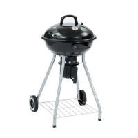 ROBERT Barbecue boule a charbon avec couvercle o44cm - Acier - Noir