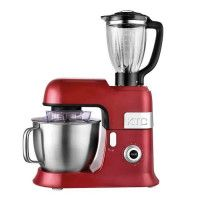 KITCHENCOOK - EXPERT_XL_RED - Robot Petrin avec Blender - 6,5L - Rouge