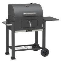 LANDMANN Barbecue a charbon - Acier emaille - 42x56 cm