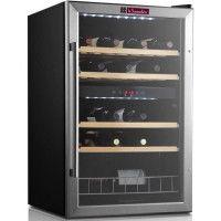 LA SOMMELIERE LS48.2Z - Cave a vin de mise en temperature double zone - 37 bouteilles - porte vitree