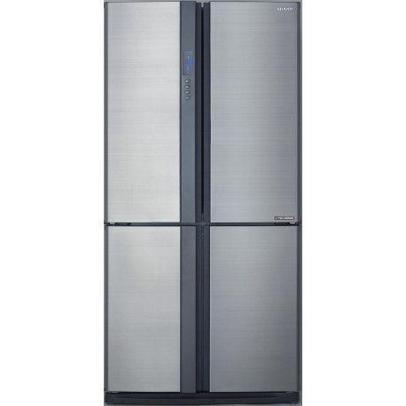 SHARP SJEX820FSL - Réfrigérateur 4 portes INOX
