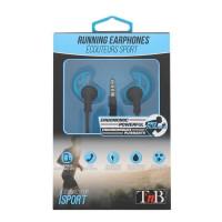 TNB Running Ecouteurs sport intra-auriculaire - Bleu