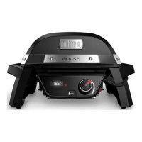 WEBER Barbecue electrique Pulse 1000 - Fonte dacier emaillee - Noir