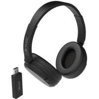 R-MUSIC RM311012 Casque TV sans fil - Transmetteur USB - Noir