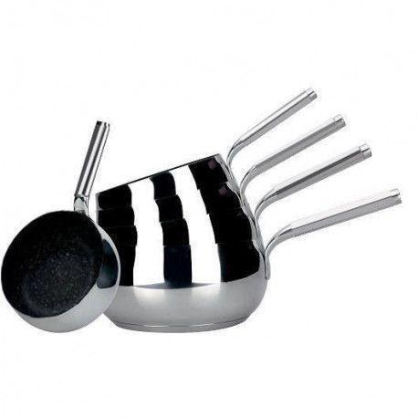 ARTHUR MARTIN Chaudron serie de 5 casseroles - O 12 / 14 / 16 / 18 / 20 cm - Sans PFOA - Tous feux dont induction