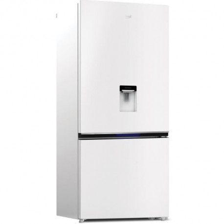 BEKO - REC72DW - Refrigerateur combine - 590L 430+160 - Froid Ventile Neo Frost - A+ - L83,20 x H191,5cm - Blanc