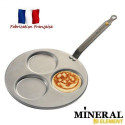 Poele triblinis Mineral B Element - O 27 cm - Gris - Tous feux dont induction