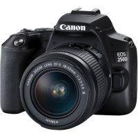 CANON 250D Appareil photo Reflex + Objectif 18-55 IS STM - Noir