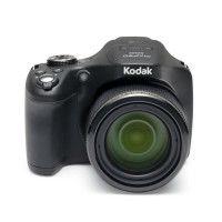 KODAK AZ522-Bk Appareil photo Bridge - 16 Megapixels CMOS - Zoom optique x52 - Noir