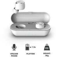 RYGHT R483034 DUO Ecouteurs Intra auriculaires Bluetooth 4.2 - Blanc