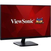 ViewSonic Moniteur 27 pouce bord fin, dalle IPS, VGA, HDMI, Display port et haut-parleur, noir matt