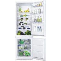 FAURE - FBB28460SA - Refrigerateur combine encastrable - 268L 196L + 72L - Froid statique - A++ - L54cm x H177,2cm - Blanc