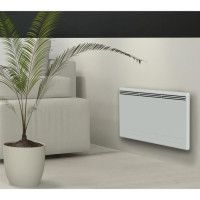 CARRERA New Moala 1000 watts Radiateur electrique a inertie ceramique + Film chauffant - Chaleur Douce - Programmation LCD