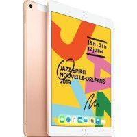 iPad 7 10,2 Retina 32Go WiFi + Cellular - Or