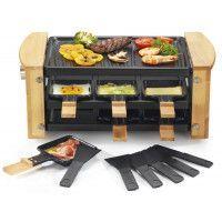 Machine à raclette kitchen chef KCWOOD 6 RP