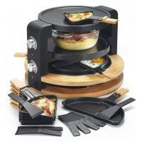 Machine à raclette kitchen chef KCWOOD 8 SUPER