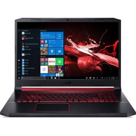 PC Portable Gamer - ACER Nitro AN517-51-520C - 17,3 FHD - i5-9300H - RAM 8Go - Stockage 512Go SSD - GeForce GTX 1650 4Go - Win 1
