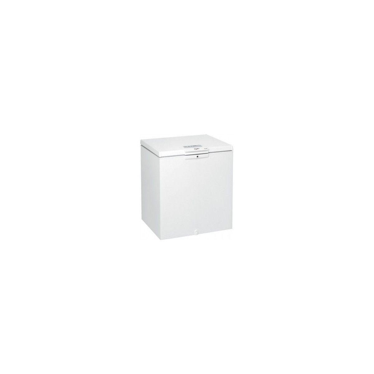 Blanc cong/élateur Coffre, 204 L, 15 kg//24h, SN-T, A+, Blanc Cong/élateurs Whirlpool WH2111 Autonome Coffre 204L A