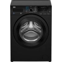 BEKO - HWD7526BB - Lave-linge sechant frontal - 7kgs+5kgs - 1200T - B - Noir - Moteur Induction