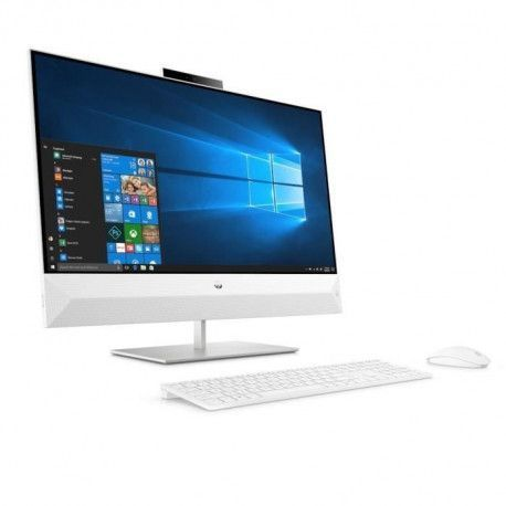 HP PC All-in-One Pavilion - 27FHD -Intel Core i5-9400T - RAM 8Go - Stockage 128Go SSD + 1To HDD - Windows 10 Plus