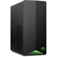 HP PC de bureau Pavilion Gaming - AMD Ryzen 5-3500 - RAM 8Go - Stockage 256Go SSD + 1To - AMD RX 5500 4Go - Windows 10 - Noir