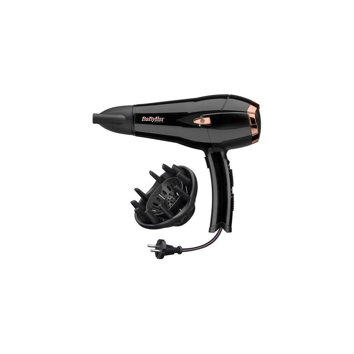 SECHE CHEVEUX RETRACORD 6V 6T° EXPERT IONIC CERAMIC 2000W BABYLISS D373E