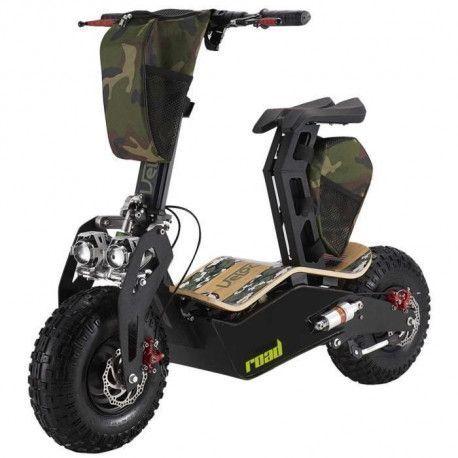 BEEPER Scootcross Electrique VMAD500EA ROAD - Batterie lithium ion - Noir