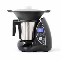 LIVOO DOP142N Robot culinaire chauffant - Noir et metal