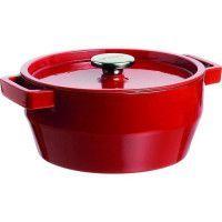 PYREX Cocotte ronde Slow Cook 6,3 L rouge