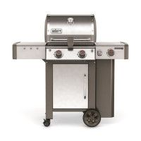 WEBER Barbecue a gaz Genesis II LX GBS S-240 - Fonte emaillee et inox