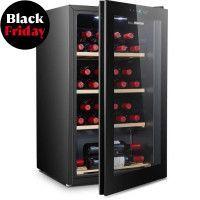 HISENSE WSD100A10J - Cave a vin de service - 30 bouteilles - pose libre - Classe A - 39dB - Clayette bois - L49xH84,4