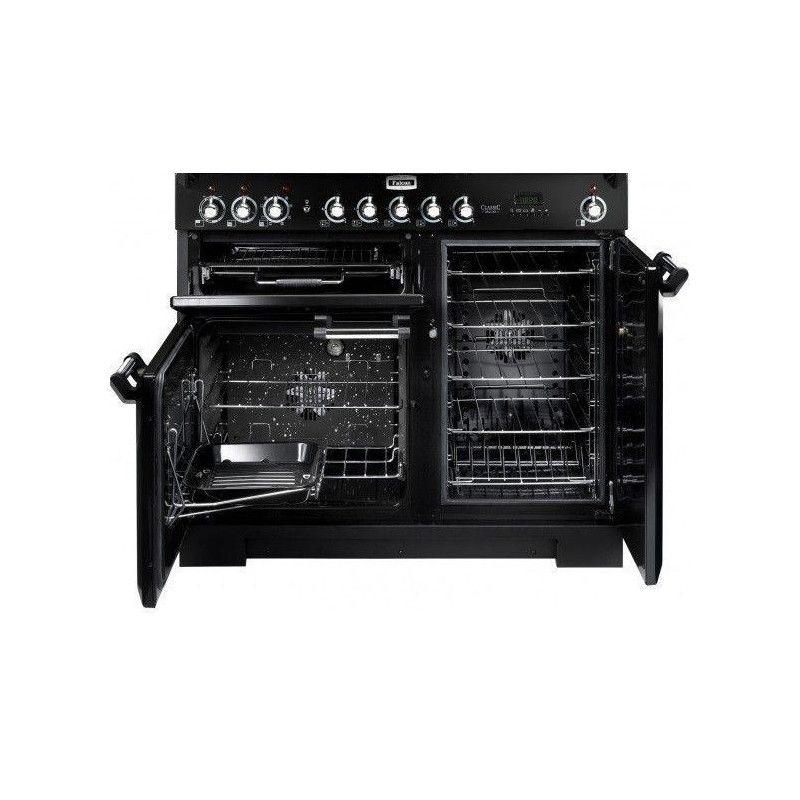 Cuisiniere 90cm Falcon Clas90eiblc Induction 3fours Elec