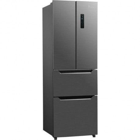 TRIOMPH THFD298NFIX Refrigerateur - 298L - Froid ventile total - Classe A++ - Design Inox Look