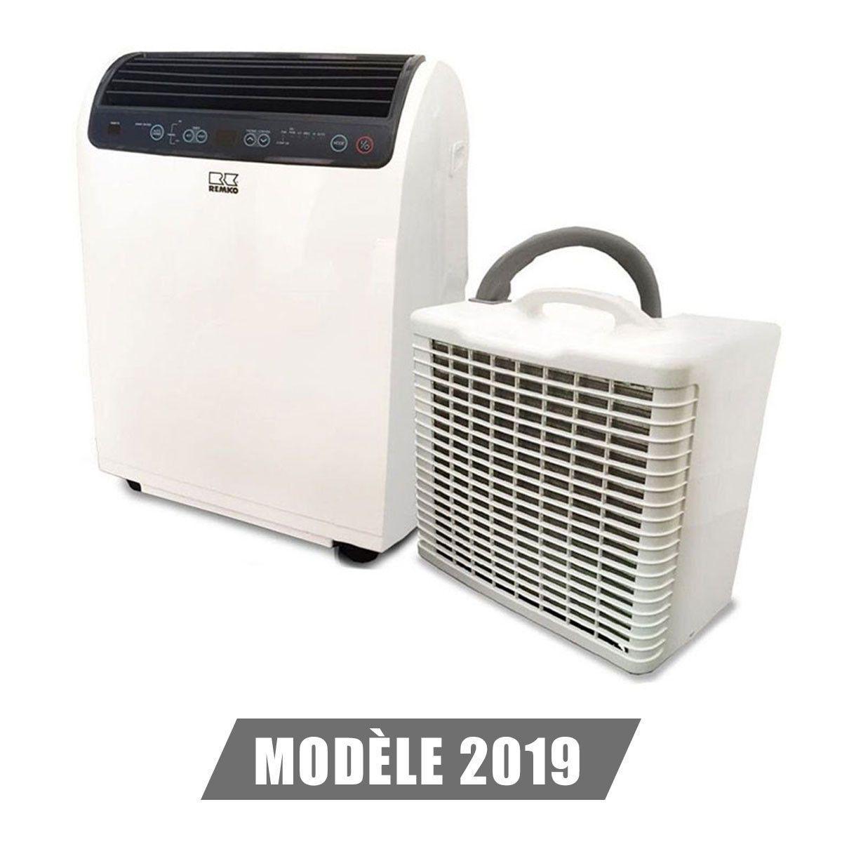 Cache Unité Extérieure Climatisation climatiseur rkl 491 dc 4,3 kw blanc remko