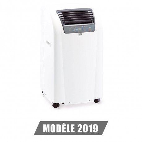 Climatiseur Mobile 3.6kW Compact REMKO Serie IBIZA - RKL 360 Blanc