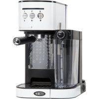 BORETTI B401 Machine a expresso 15 bars - Cappuccino et latte avec mousse de lait - Blanc