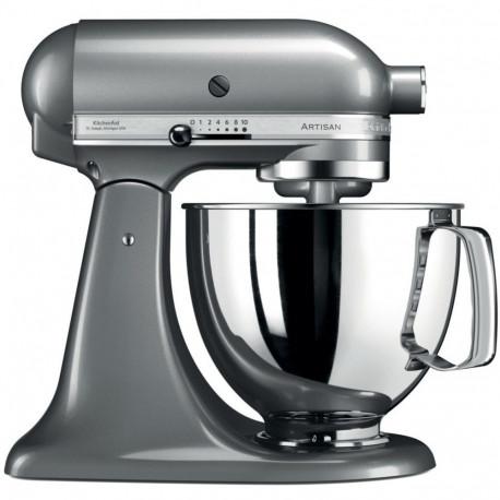 KitchenAid Artisan 5KSM125ECU - Robot multi-fonctions - 300 Watt - gris argenté