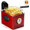 Frifri 1905R - Friteuse - Métal - 3200 W - Rouge