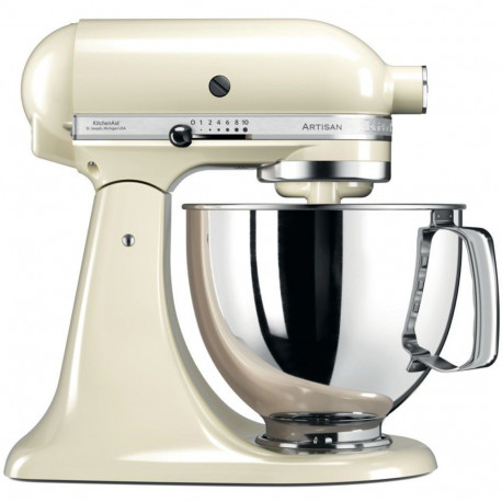 KitchenAid Artisan 5KSM125EAC - Robot multi-fonctions - 300 Watt - crème