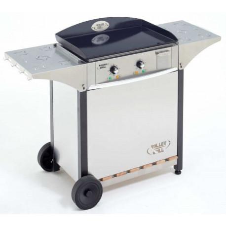 Roller Grill CLG600 Ensemble plancha gaz 60x40 + Desserte