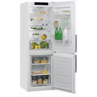 Réfrigérateur combiné 339L Froid Brassé WHIRLPOOL 60cm A++, W5821CWH